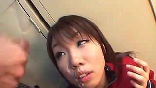 Hottest Japanese slut in Fabulous JAV uncensored Gangbang scene