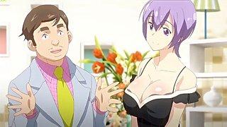 big tits anime