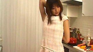 Hottest Japanese whore in Fabulous Kitchen JAV scene