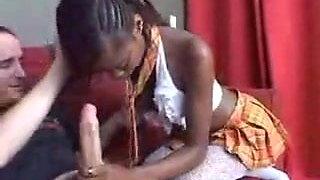 young black girl