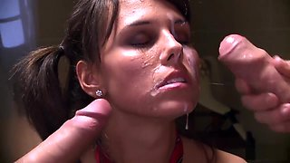 Messy facial compilation