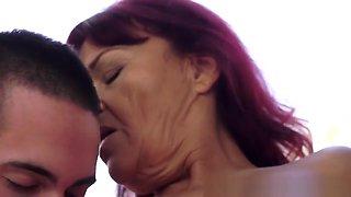 Old Grandma Gives Head