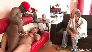 Horny Black Stud Plows Wife Nikita Denise