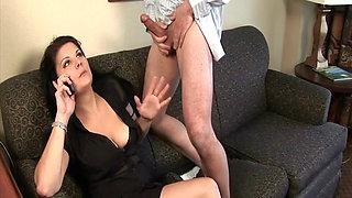 Himmel » Untreue Ehefrau mit dicken Brüsten