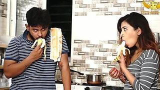 Wife has an affair with servant