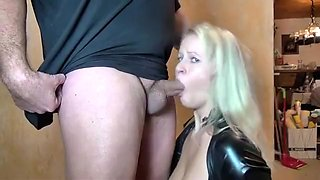 Horny amateur Blonde, Fetish porn movie