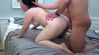 Taboo home sex with moms on sons