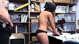 ShopLyfter - LP Officer Fucks Hot Muslim Teen With Huge Rack