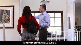 MyBabySittersClub- Sexy Teen Fucked While Babysitter