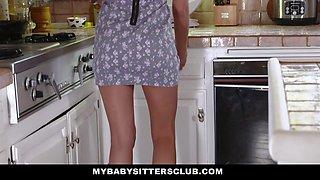 MyBabySittersClub - Hot BabySitter Becomes Fulltime Sex