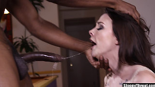 Chanel Preston Extreme Interracial Face Fucking