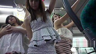 Hot Asian Babe Fucked On The Bus