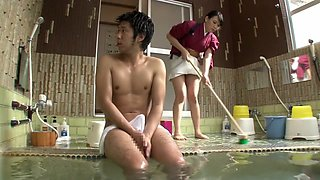 Incredible Japanese slut in Amazing Big Tits, Shower JAV scene