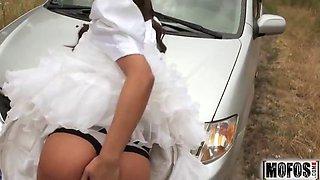 rejected bride bangs stranger video starring amirah adara