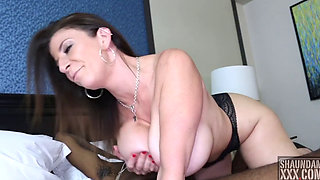 Sara Jay big boobs milf interracial