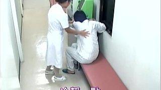 Delicious nurse creampied in spy cam medical video