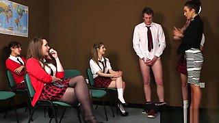 Teacher Teaches Schoolboy a Lesson