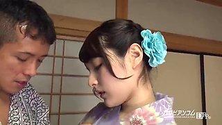 Mihono :: the pleasant in glamour yukata 1 caribbeancom