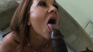 Curvy teacher takes her stud's hard pole passionately