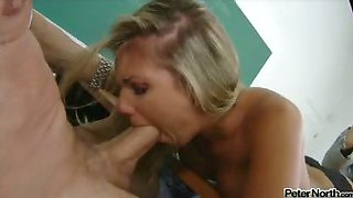Professor Peter North Asks For A BJ From His College Student