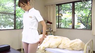 Exotic Japanese girl Akari Asakiri, Nachi Sakaki, Yuki Aoi in Amazing Nurse, Medical JAV video