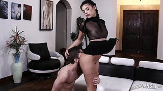 punk girl loves big cock