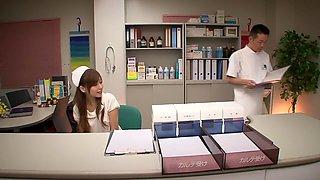 Miyuki Yokoyama in Masturbating Young Nurse part 1.1