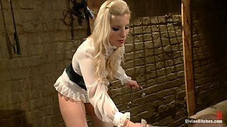 Roman Rivers & Ashley Fires in For The Love Of Hose: Pantyhose Fetish - DivineBitches