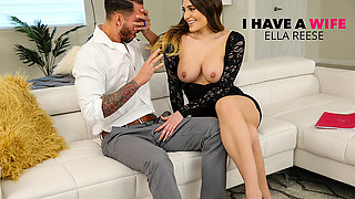 Ella Reese Fucks Married Man While His Wife Is Away - IHaveaWife