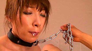 Crazy Japanese chick in Hottest Blowjob, BDSM JAV clip