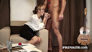 The best ever birthday gift for shy babe Dominica Phoenix