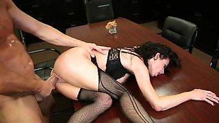 Horny Big Natural Tits movie with MILFs,Secretary scenes