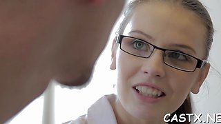 teen in a reality porn scene video film 1