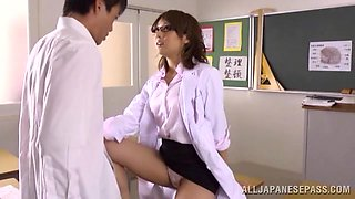 Special Lessons For Her Special Student