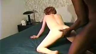 Linda copulates a darksome guy in front of hubby, then bonks him likewise