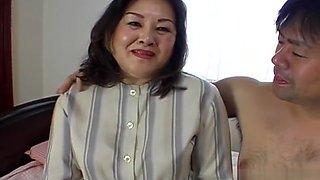 Hottest Japanese whore in Crazy Blowjob/Fera, Fishnet JAV clip