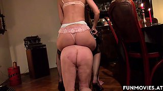 Sarah Dark in Skinny German Mistress pleasures grandpa - FunMovies