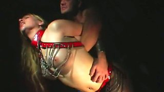 Exremely spoiled nympho gets ruthlessly fucked from behind