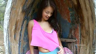 Puffy nipples teen