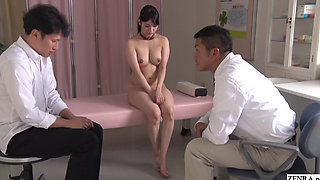 JAV teacher Rei Mizuna ENF CMNF demonstration Subtitled