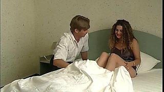 Beautiful girl bangs her ex,boyfriend