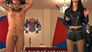 Hottest CFNM, Femdom sex movie