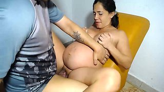 Perverse_Pregnant Hot pregnant fucking hard from her husband