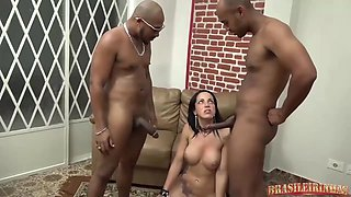 This Slut Got Her Pussy Pounded In A Double Penetration