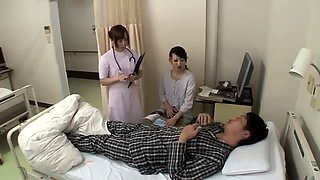 Lucky Asian dude gets the wildest sex treatment in hospital
