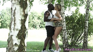 Atm loving babe assfucked interracially
