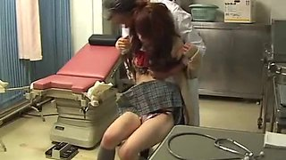 Jap student abused by doc