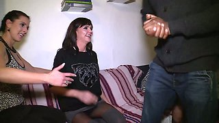 Slutty chick Lana Vegas is taking part in crazy group sex