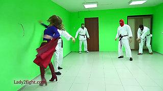 Supergirl vs dojo