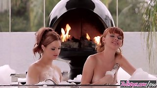 Twistys - Bathtub Lovers Jayden Cole , Marie McCray When Gir